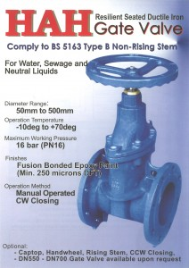 Gate Valve Catalog Cover