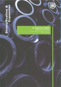 YL DI Pipe n Fitting Catalog Cover